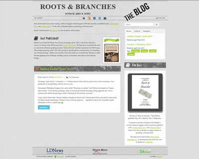 Roots & Branches Home Page